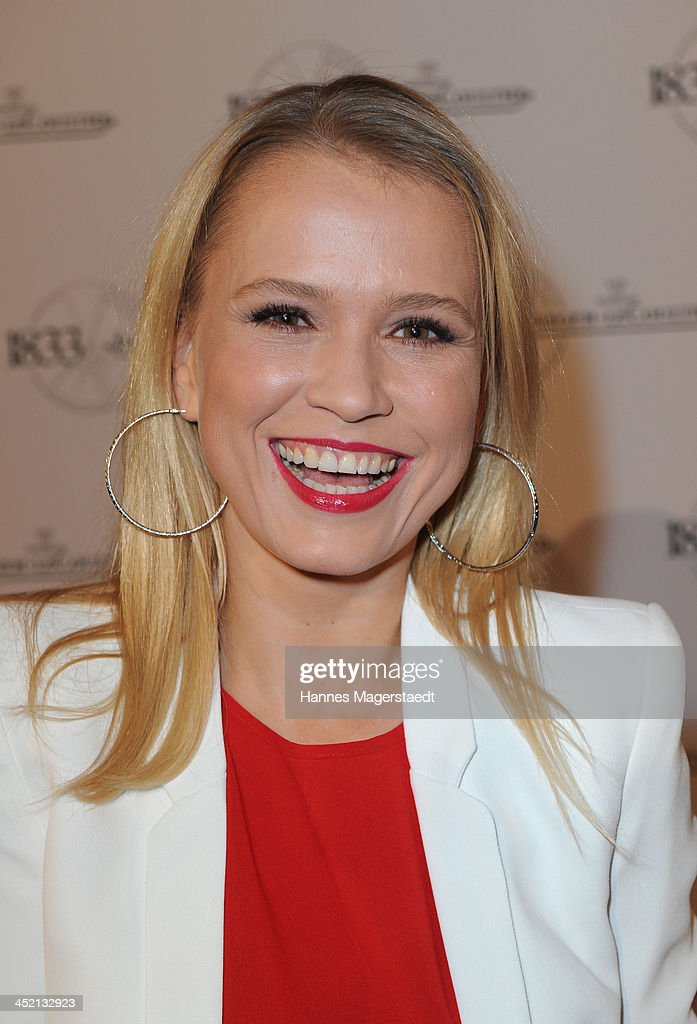 Actress <a gi-track='captionPersonalityLinkClicked' href=/galleries/search?phrase=Nova+Meierhenrich&family=editorial&specificpeople=215062 ng-click='$event.stopPropagation()'>Nova Meierhenrich</a> attends Jaeger-LeCoultre Cocktail at Charles hotel on November 26, 2013 in Munich, Germany.