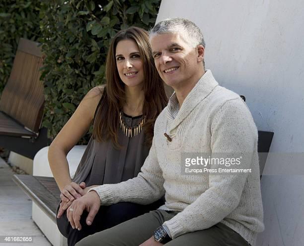 Actress Nuria Fergo and director Norberto Rizzo present 'Lucia La Maga' on January 9 2014 in Malaga Spain