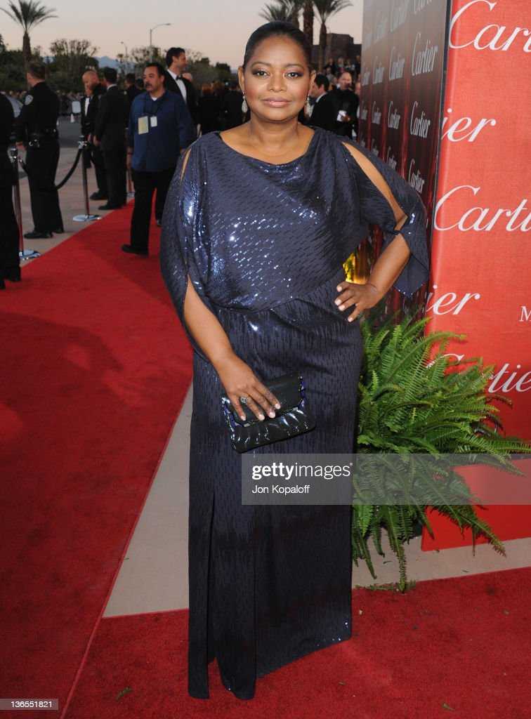 Actress Octavia Spencer arrives at the 23rd Annual Palm Springs International Film Festival Awards Gala at Palm Springs Convention Center on January 7, 2012 in Palm Springs, California.