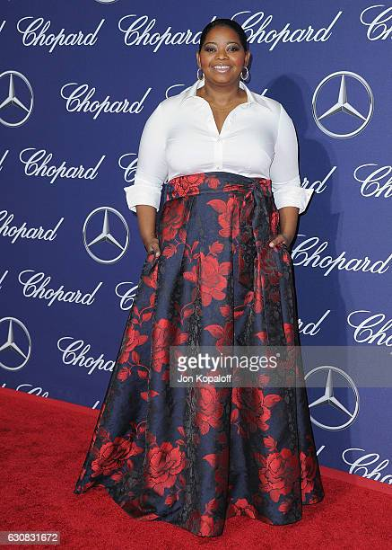 Actress Octavia Spencer arrives at the 28th Annual Palm Springs International Film Festival Film Awards Gala at Palm Springs Convention Center on...