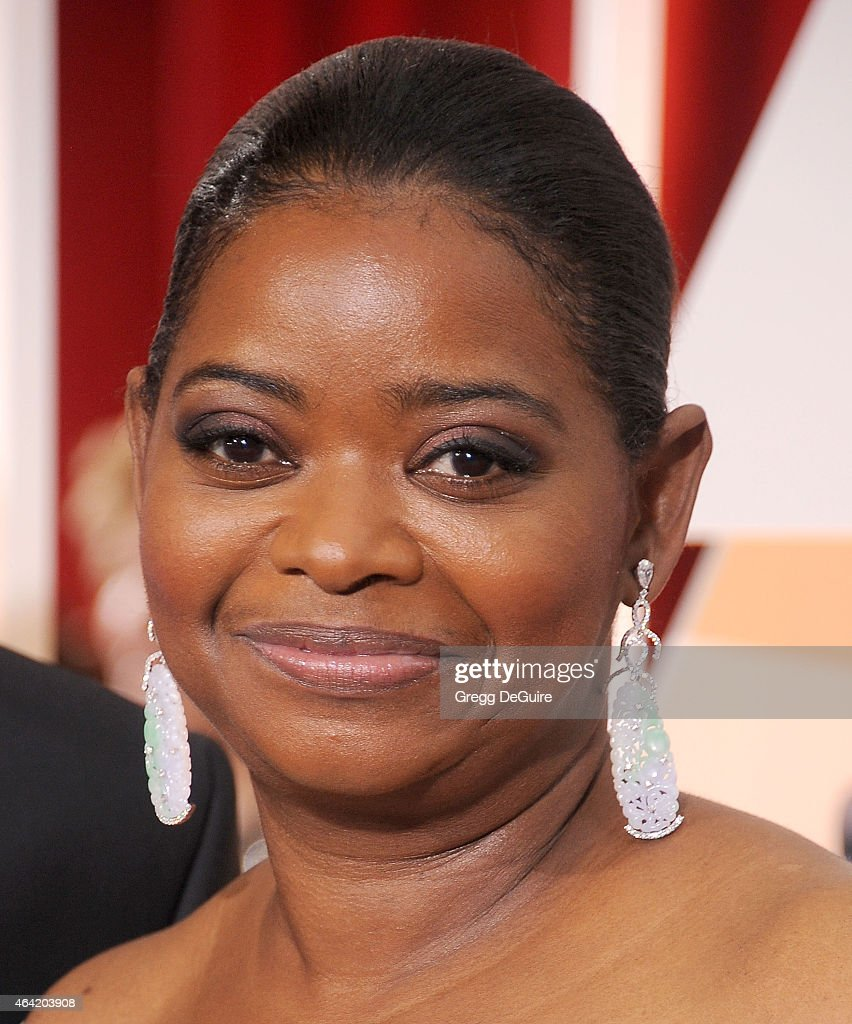 Actress Octavia Spencer arrives at the 87th Annual Academy Awards at Hollywood Highland Center on February 22 2015 in Hollywood California
