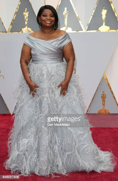 Actress Octavia Spencer arrives at the 89th Annual Academy Awards at Hollywood Highland Center on February 26 2017 in Hollywood California