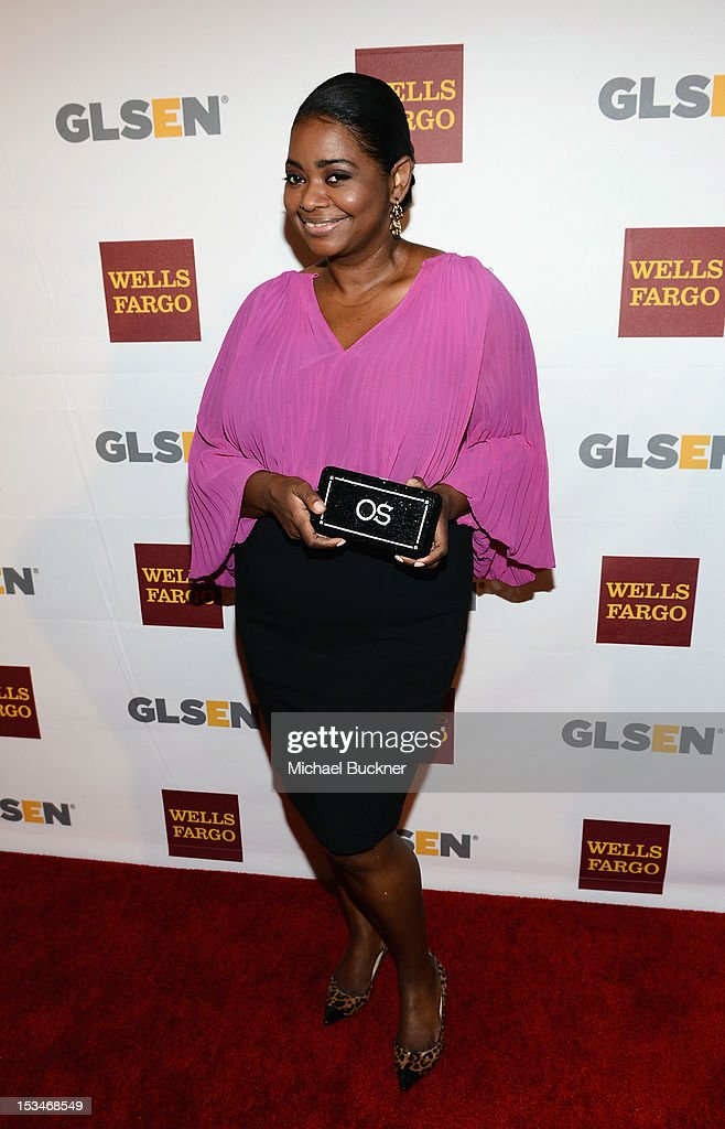 Actress <a gi-track='captionPersonalityLinkClicked' href=/galleries/search?phrase=Octavia+Spencer&family=editorial&specificpeople=2538115 ng-click='$event.stopPropagation()'>Octavia Spencer</a> arrives at the 8th Annual GLSEN Respect Awards held at Beverly Hills Hotel on October 5, 2012 in Beverly Hills, California.