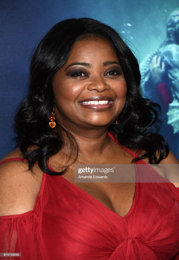 Actress Octavia Spencer arrives at the premiere of Fox Searchlight Pictures' 'The Shape Of Water' at the Academy Of Motion Picture Arts And Sciences on November 15, 2017 in Los Angeles, California.
