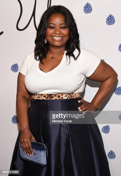 Actress Octavia Spencer arrives at Tyler Ellis Celebrates 5th Anniversary And Launch Of Tyler Ellis x Petra Flannery Collection at Chateau Marmont on...