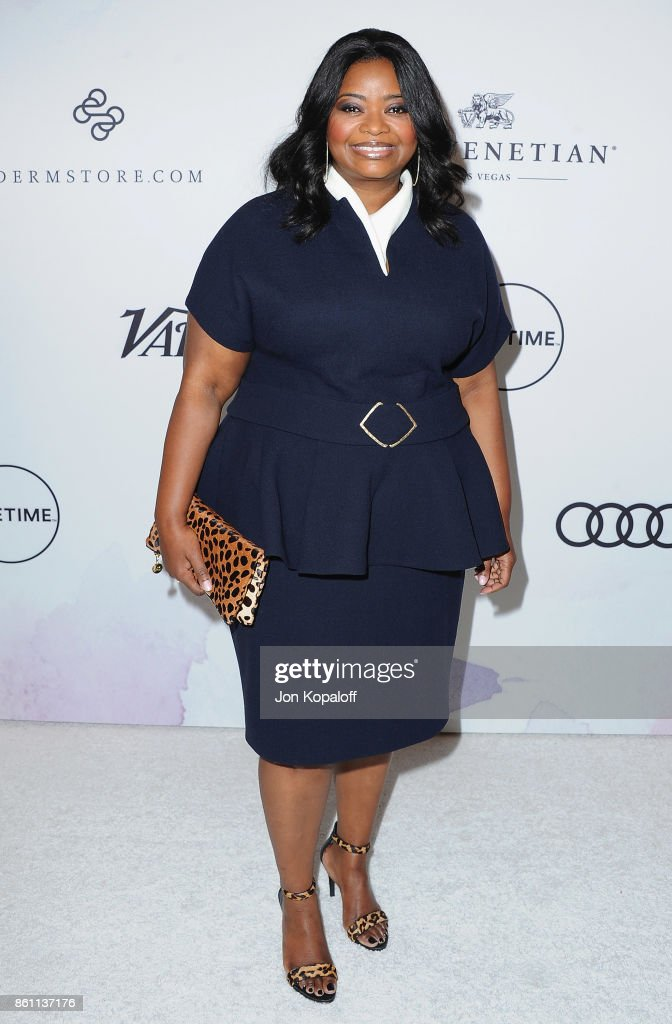 Actress Octavia Spencer arrives at Variety's Power Of Women: Los Angeles at the Beverly Wilshire Four Seasons Hotel on October 13, 2017 in Beverly Hills, California.