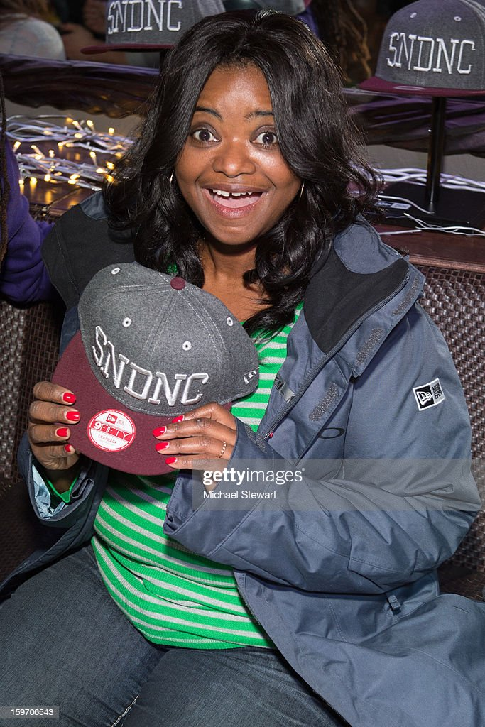 Actress Octavia Spencer attends Oakley Learn To Ride In Collaboration With New Era - Day 1 - 2013 Park City on January 18, 2013 in Park City, Utah.