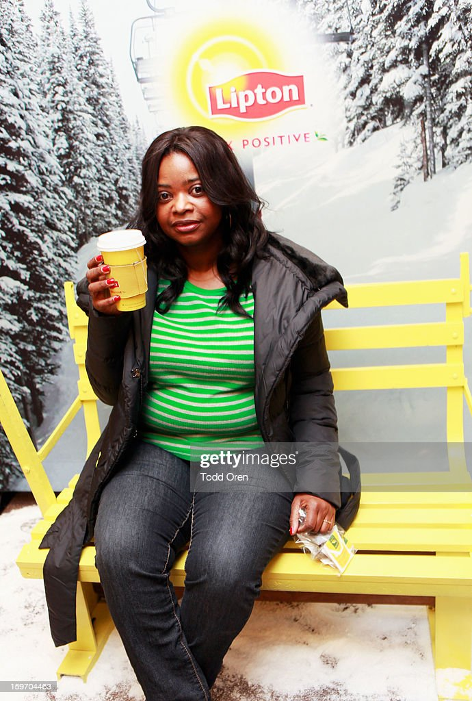 Actress Octavia Spencer attends Sears Shop Your Way Digital Recharge Lounge on January 18, 2013 in Park City, Utah.