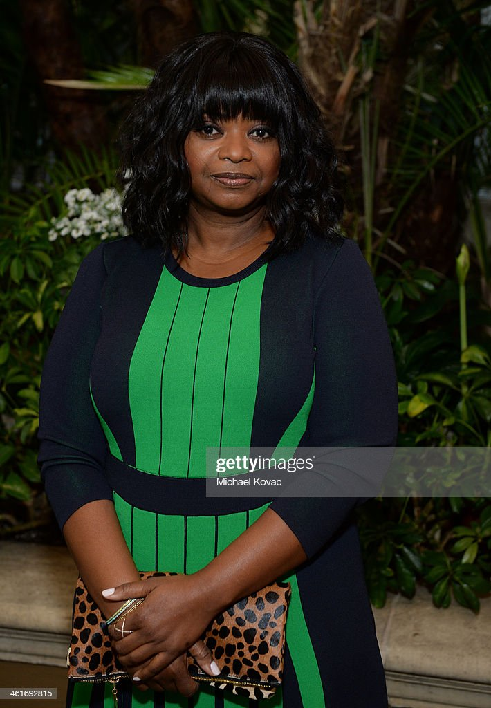 Actress Octavia Spencer attends the 14th annual AFI Awards Luncheon at the Four Seasons Hotel Beverly Hills on January 10, 2014 in Beverly Hills, California.