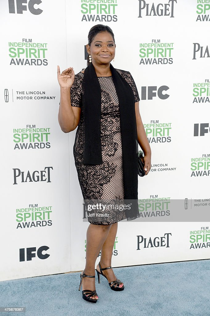Actress Octavia Spencer attends the 2014 Film Independent Spirit Awards on March 1, 2014 in Santa Monica, California.