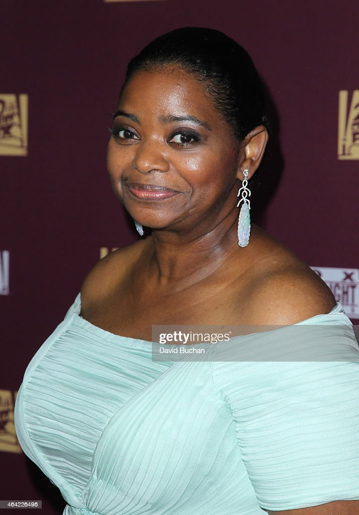 Actress Octavia Spencer attends the 21st Century Fox and Fox Searchlight Oscar Party at BOA Steakhouse on February 22 2015 in West Hollywood...