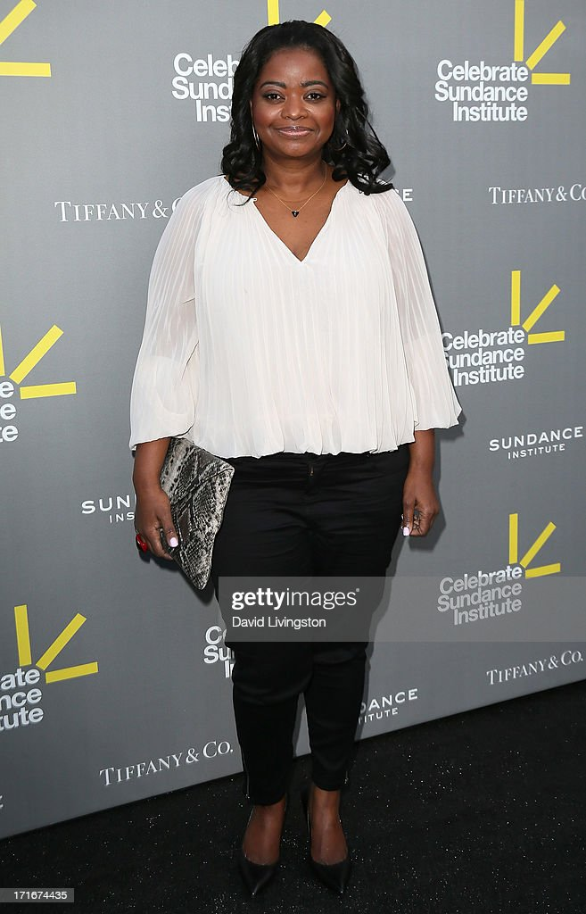 Actress <a gi-track='captionPersonalityLinkClicked' href=/galleries/search?phrase=Octavia+Spencer&family=editorial&specificpeople=2538115 ng-click='$event.stopPropagation()'>Octavia Spencer</a> attends the 3rd Annual Celebrate Sundance Institute Los Angeles Benefit at The Lot on June 5, 2013 in West Hollywood, California.