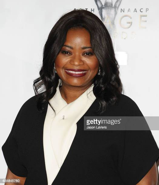 Actress Octavia Spencer attends the 48th NAACP Image Awards at Pasadena Civic Auditorium on February 11 2017 in Pasadena California