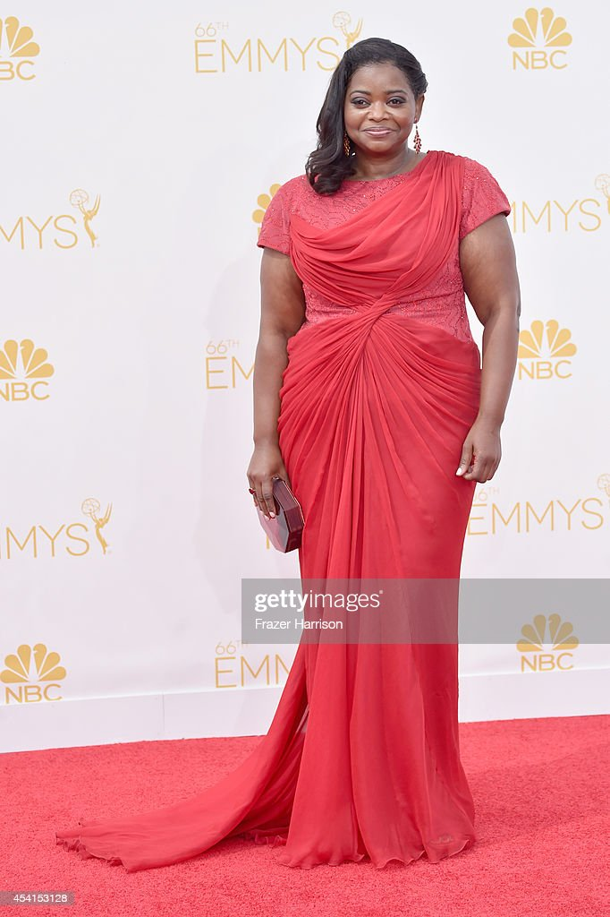 Actress Octavia Spencer attends the 66th Annual Primetime Emmy Awards held at Nokia Theatre LA Live on August 25 2014 in Los Angeles California