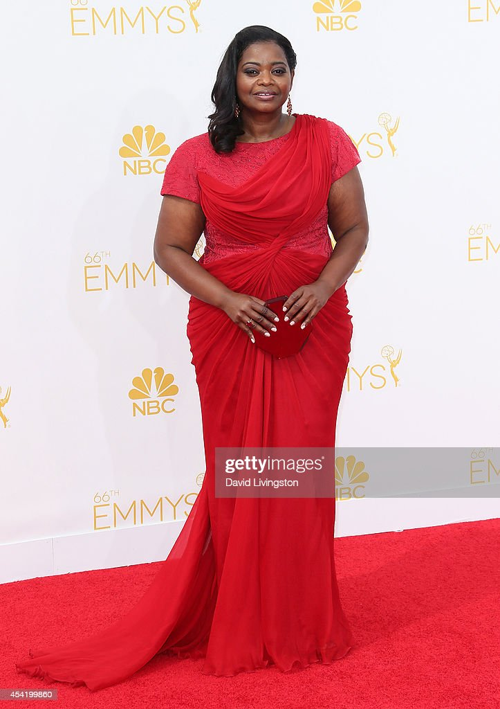 Actress Octavia Spencer attends the 66th Annual Primetime Emmy Awards at the Nokia Theatre LA Live on August 25 2014 in Los Angeles California