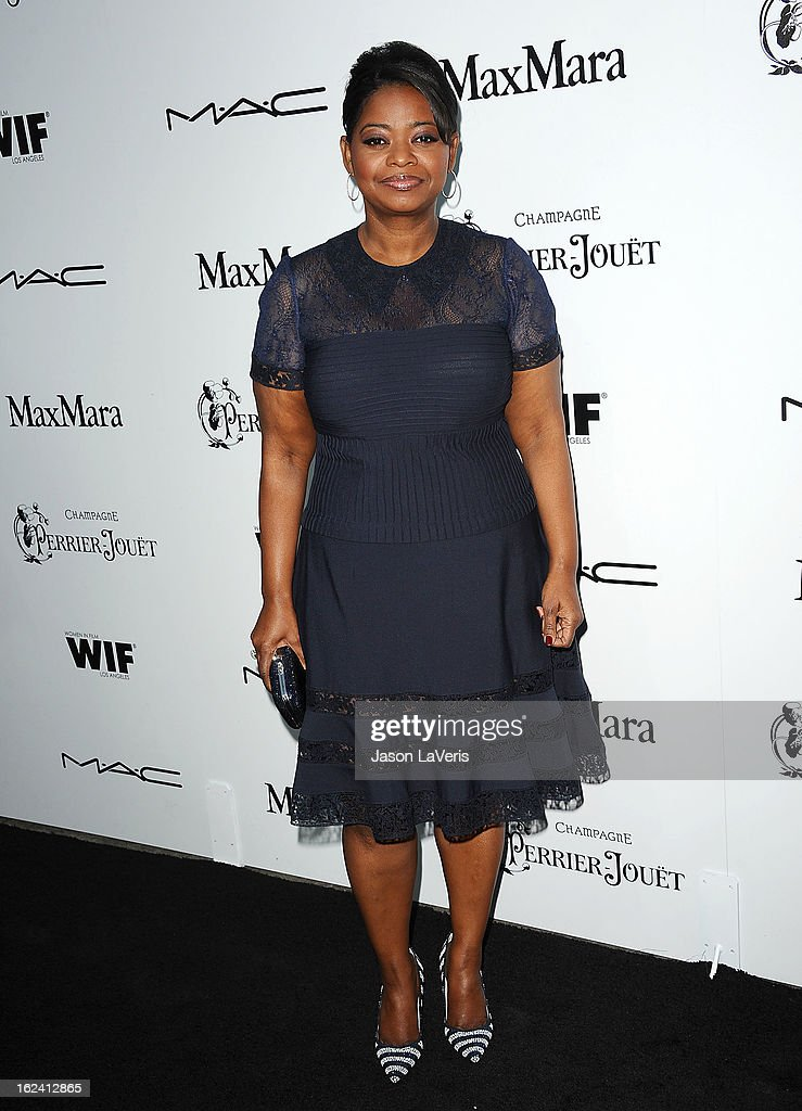 Actress Octavia Spencer attends the 6th annual Women In Film pre-Oscar cocktail party at Fig & Olive Melrose Place on February 22, 2013 in West Hollywood, California.