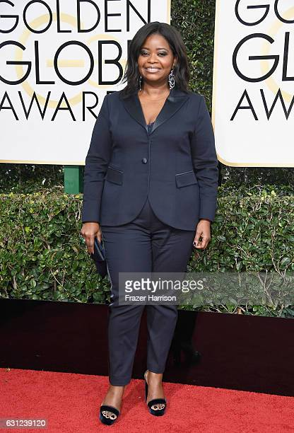 Actress Octavia Spencer attends the 74th Annual Golden Globe Awards at The Beverly Hilton Hotel on January 8 2017 in Beverly Hills California