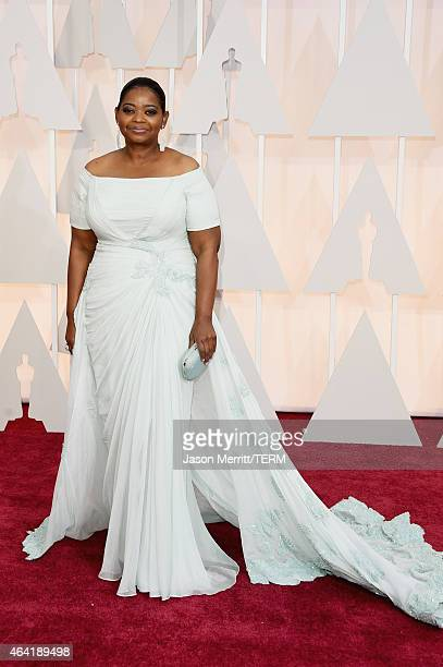 Actress Octavia Spencer attends the 87th Annual Academy Awards at Hollywood Highland Center on February 22 2015 in Hollywood California