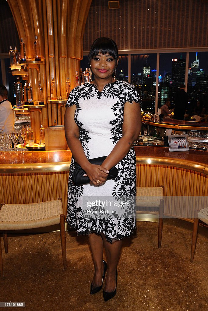 Actress <a gi-track='captionPersonalityLinkClicked' href=/galleries/search?phrase=Octavia+Spencer&family=editorial&specificpeople=2538115 ng-click='$event.stopPropagation()'>Octavia Spencer</a> attends the after party at the New York premiere of FRUITVALE STATION, hosted by The Weinstein Company, BET Films and CIROC Vodka on July 8, 2013 in New York City.