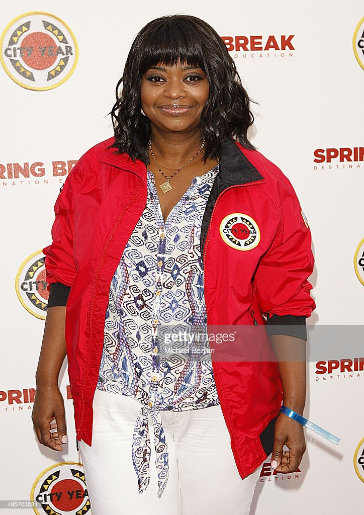 Actress <a gi-track='captionPersonalityLinkClicked' href=/galleries/search?phrase=Octavia+Spencer&family=editorial&specificpeople=2538115 ng-click='$event.stopPropagation()'>Octavia Spencer</a> attends the City Year Los Angeles 'Spring Break' Fundraiser at Sony Studios on April 19, 2014 in Los Angeles, California.