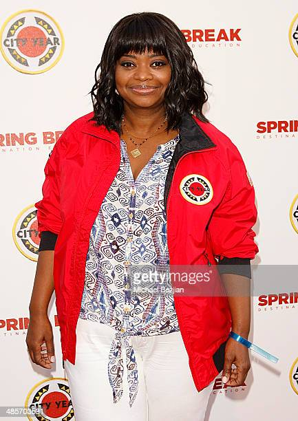 Actress Octavia Spencer attends the City Year Los Angeles 'Spring Break' Fundraiser at Sony Studios on April 19 2014 in Los Angeles California