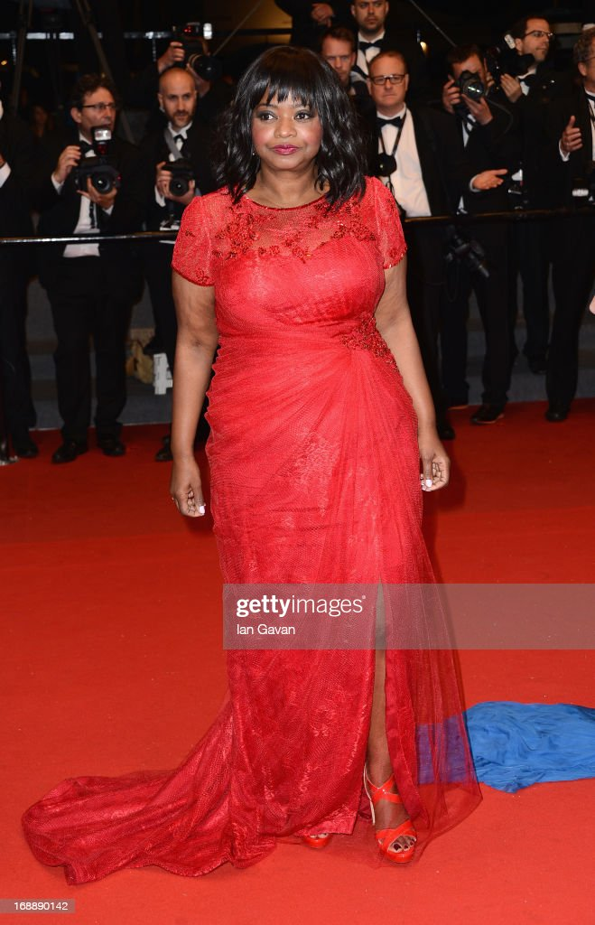 Actress Octavia Spencer attends the 'Fruitvale Station' Premiere during the 66th Annual Cannes Film Festival at the Palais des Festivals on May 16, 2013 in Cannes, France.