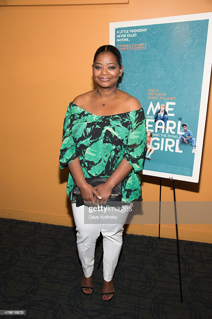 Actress Octavia Spencer attends the 'Me And Earl And The Dying Girl' New York Premiere at Sunshine Landmark on June 10 2015 in New York City