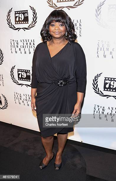 Actress Octavia Spencer attends the New York Film Critics Circle 2013 Awards Ceremony at The Edison Ballroom on January 6 2014 in New York City