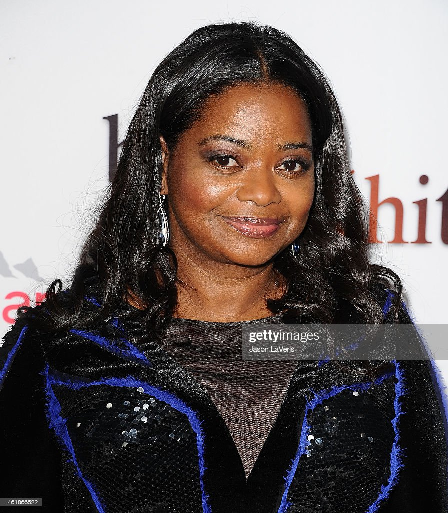 Actress Octavia Spencer attends the premiere of 'Black or White' at Regal Cinemas LA Live on January 20 2015 in Los Angeles California