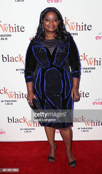 Actress Octavia Spencer attends the premiere of Relativity Media's 'Black or White' at Regal Cinemas LA Live on January 20 2015 in Los Angeles...