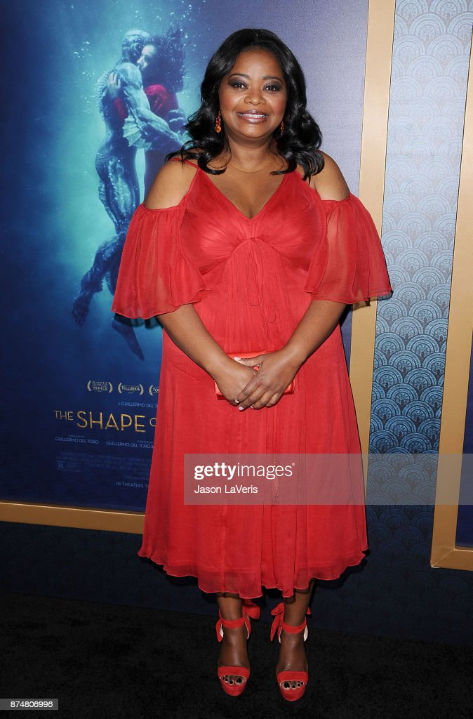 Actress Octavia Spencer attends the premiere of 'The Shape of Water' at the Academy of Motion Picture Arts and Sciences on November 15, 2017 in Los Angeles, California.
