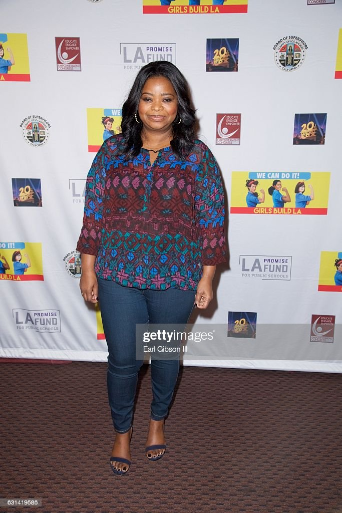 Actress Octavia Spencer attends the LA Promise Fund Screening Of 'Hidden Figures' at USC Galen Center on January 10, 2017 in Los Angeles, California.