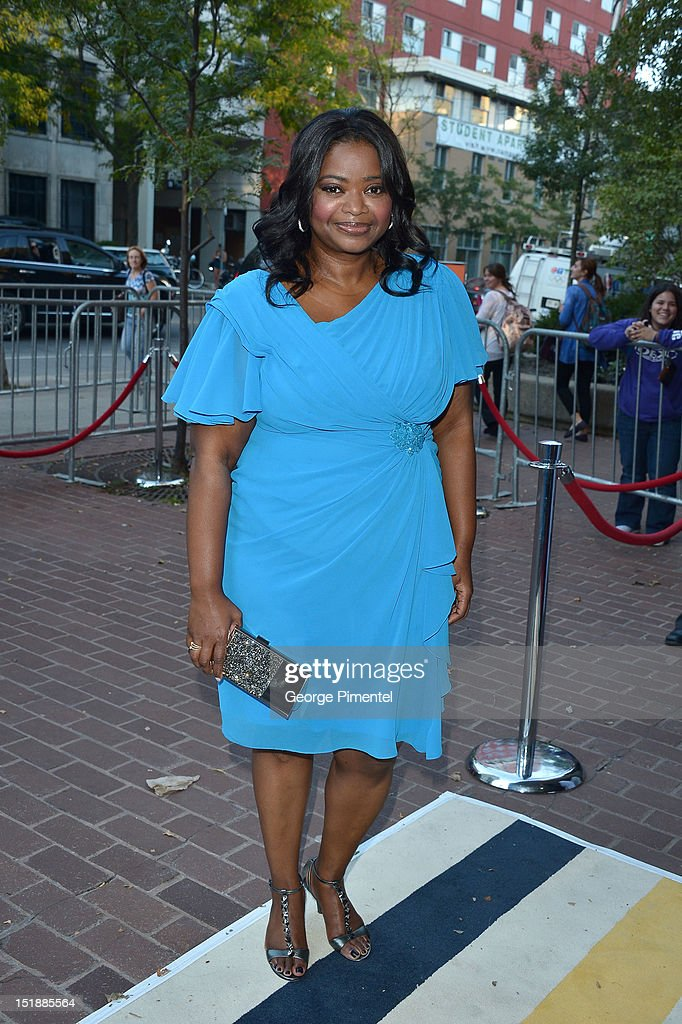 Actress Octavia Spencer attends the 'Smashed' Premiere during 2012 Toronto International Film Festival at Ryerson Theatre on September 12, 2012 in Toronto, Canada.