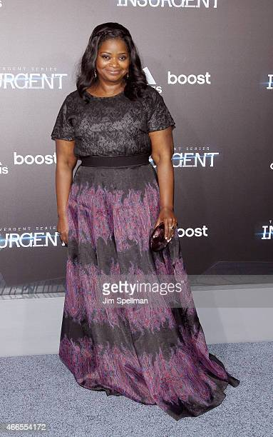 Actress Octavia Spencer attends the 'The Divergent Series Insurgent' New York premiere at Ziegfeld Theater on March 16 2015 in New York City