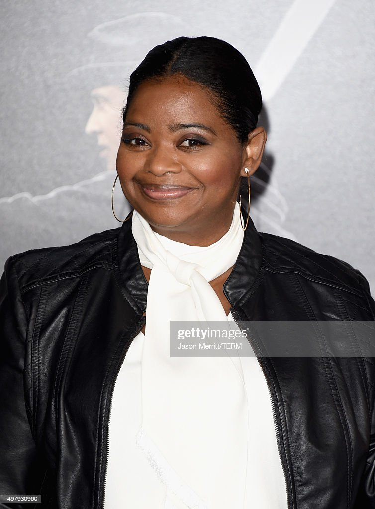 Actress Octavia Spencer attends Warner Bros Pictures' 'Creed' Premiere at Regency Village Theatre on November 19 2015 in Westwood California