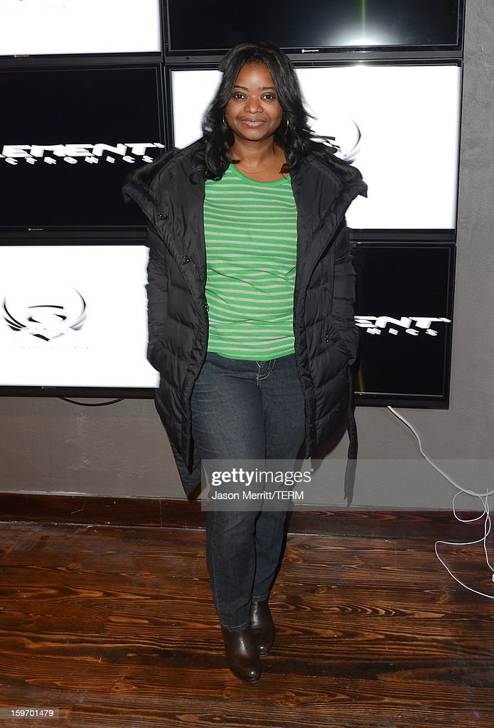 Actress Octavia Spencer celebrates at the Oakley Learn To Ride in collaboration with New Era on January 18, 2013 in Park City, Utah.