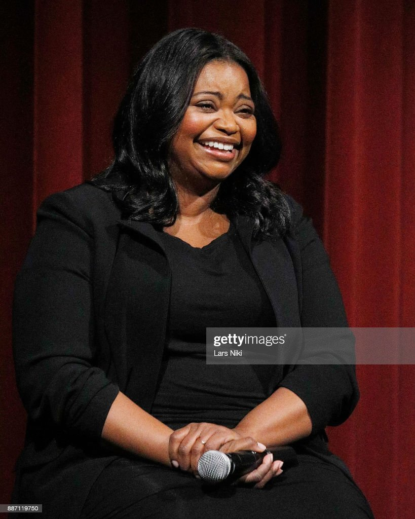 Actress Octavia Spencer on stage during The Academy of Motion Picture Arts & Sciences Official Academy Screening of The Shape of Water at MOMA on December 5, 2017 in New York City.