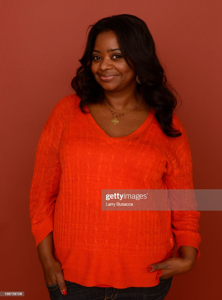 Actress <a gi-track='captionPersonalityLinkClicked' href=/galleries/search?phrase=Octavia+Spencer&family=editorial&specificpeople=2538115 ng-click='$event.stopPropagation()'>Octavia Spencer</a> poses for a portrait during the 2013 Sundance Film Festival at the Getty Images Portrait Studio at Village at the Lift on January 19, 2013 in Park City, Utah.
