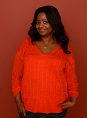 Actress Octavia Spencer poses for a portrait during the 2013 Sundance Film Festival at the Getty Images Portrait Studio at Village at the Lift on...