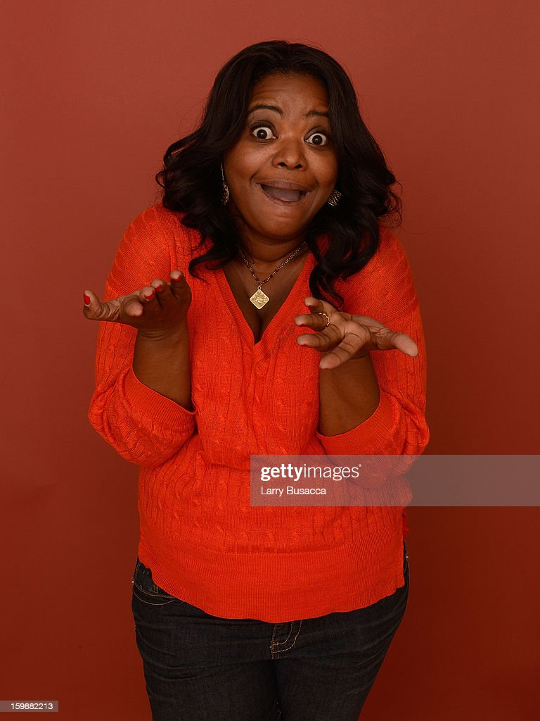 Actress Octavia Spencer poses for a portrait during the 2013 Sundance Film Festival at the Getty Images Portrait Studio at Village at the Lift on January 19, 2013 in Park City, Utah.