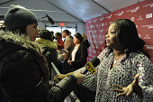Actress Octavia Spencer speaks at the 'Fruitvale' premiere at The Marc Theatre during the 2013 Sundance Film Festival on January 19 2013 in Park City...
