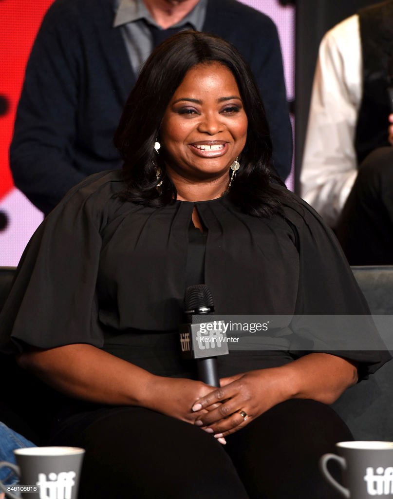 Actress Octavia Spencer speaks onstage at 'The Shape of Water' press conference during 2017 Toronto International Film Festival at TIFF Bell Lightbox on September 11, 2017 in Toronto, Canada.