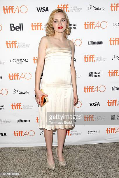 Actress Odessa Young attends 'The Daughter' photo call during the 2015 Toronto International Film Festival at Winter Garden Theatre on September 11...
