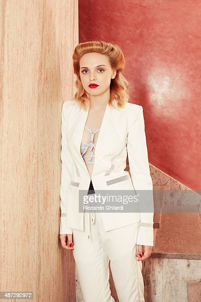 Actress Odessa Young is photographed for Self Assignment on September 5 2015 in Venice Italy