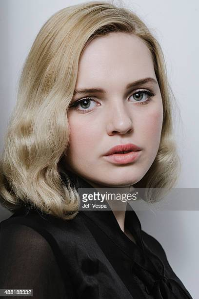 Actress Odessa Young of 'The Daughter' poses for a portrait at the 2015 Toronto Film Festival at the TIFF Bell Lightbox on September 12 2015 in...
