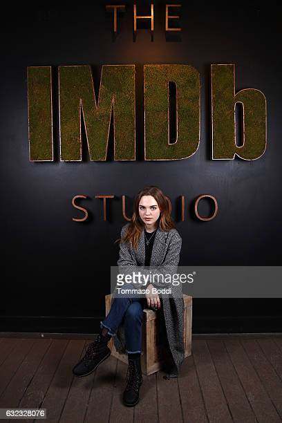 Actress Odessa Young of 'When the Street Lights Go On' attends The IMDb Studio featuring the Filmmaker Discovery Lounge presented by Amazon Video...