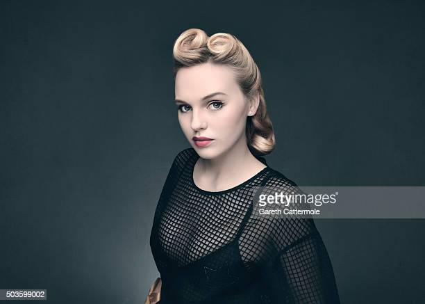 Actress Odessa Young poses during a portrait session on day seven of the 12th annual Dubai International Film Festival held at the Madinat Jumeriah...