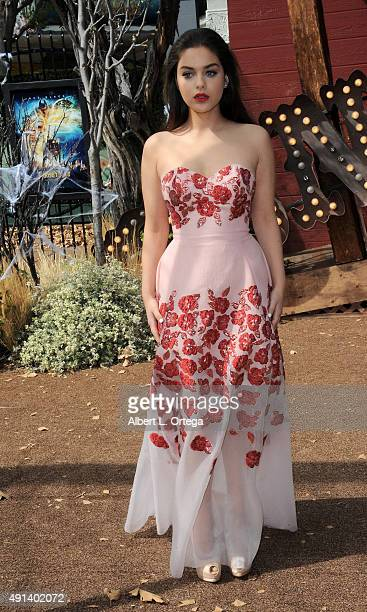 Actress Odeya Rush arrives for the Premiere Of Sony Pictures Entertainment's 'Goosebumps' held at Regency Village Theatre on October 4 2015 in...