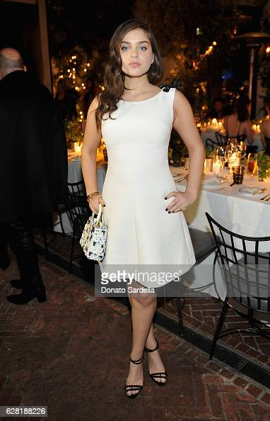 Actress Odeya Rush attends Dior Lady Art Los Angeles Popup Boutique Opening Event on December 6 2016 in Beverly Hills California