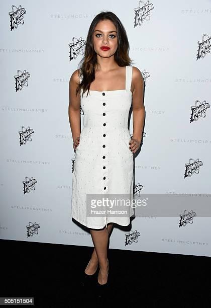Actress Odeya Rush attends Stella McCartney Autumn 2016 Presentation at Amoeba Music on January 12 2016 in Los Angeles California